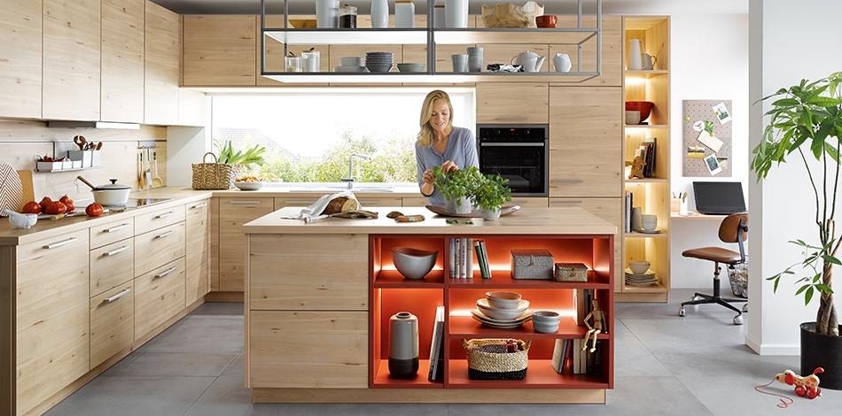 Schüller Küchen – qualitiativ hochwertige Küchenmöbel ...